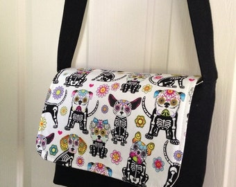 Small messenger style bag