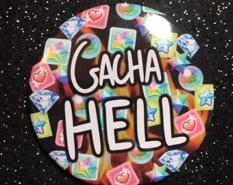 "GACHA HELL 2.25"" Button"