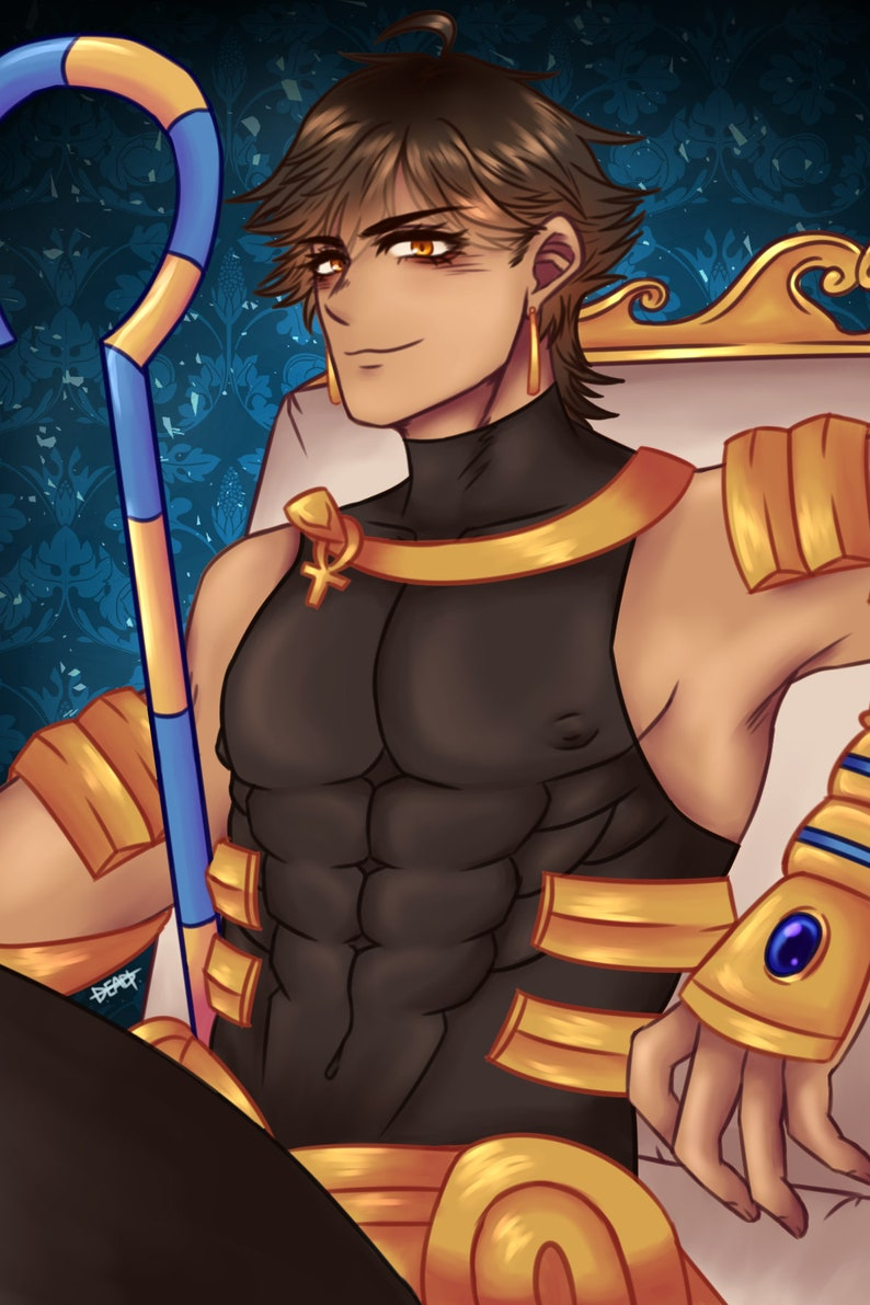 OZYMANDIAS - Fate Grand Order Postcard Print