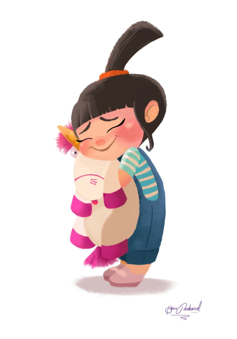 Art Print Agnes from Despicable Me It's So image 0