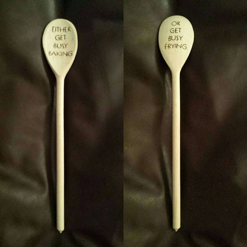Wooden spoon inspired by The Shawshank Redemption