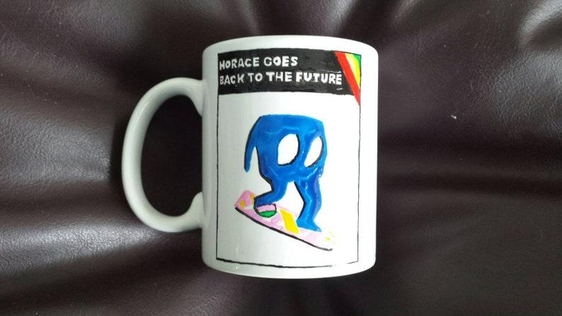 Horace Goes Back to the Future Mug
