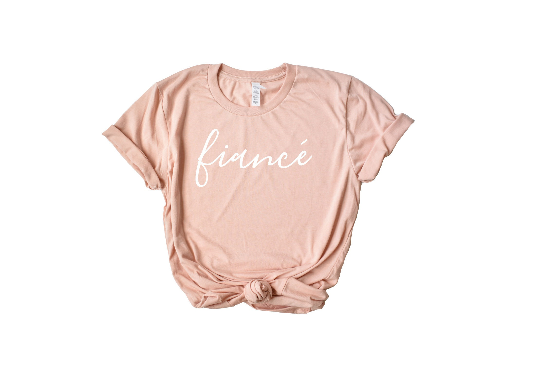 Fiance Shirt Bridal Shower Gift Gift for Bride I said | Etsy