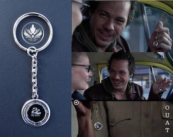 Emma Swan Keychain, Swan Keychain, Once Upon a Time Keychain, Neal Cassady Keychain, OUAT Keychain, Cosplay Keychain, OUAT, Baelfire, Gift