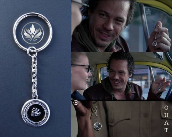 Emma Swan Keychain Swan Keychain Once Upon a Time Keychain  c0335f526735