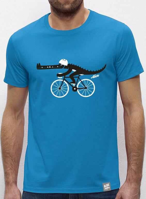 Croco Biker T-shirt Boys Unisex Tshirt