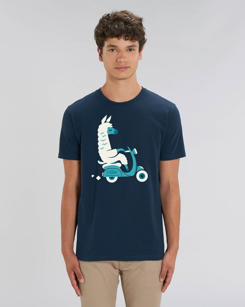 LAMA SCOOTER T-Shirt Boys image 0