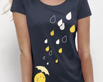 BIRDY in the RAIN T-Shirt Girls