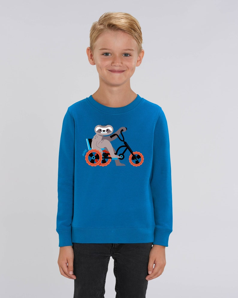FAULTIER CRUISER Longsleeve sloth Sweatshirt Kids Jungs image 0