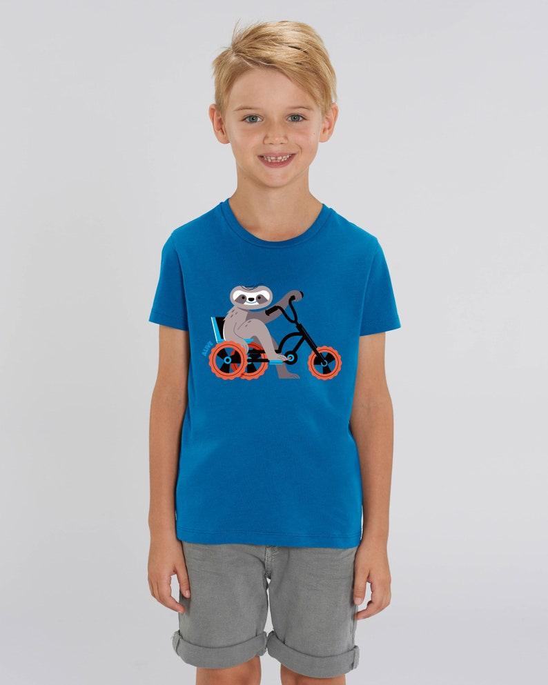 FAULTIER CRUISER T-Shirt Faultier tee shirt sloth Kids image 0