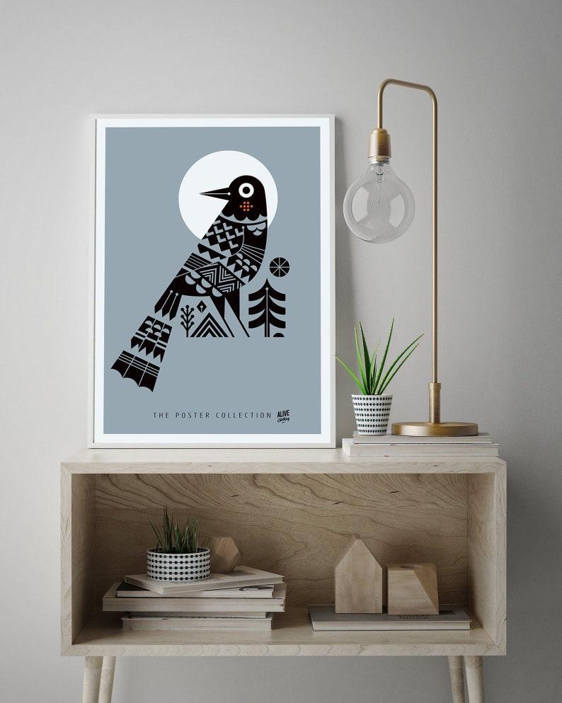 THE CROW Kunstdruck Print Poster Fine Art DIN A2 42x594 image 0