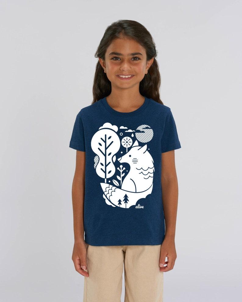 WHITE WOLF  T-Shirt Kids Wolf T-Shirt Wolf Shirt Wolf image 0