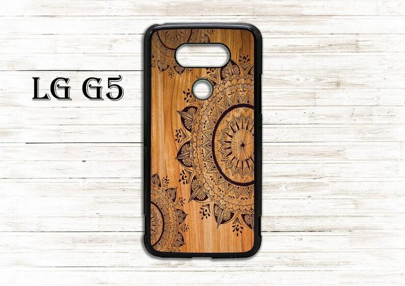 sports shoes 5a9ca 56abe Cute Flower mandala on wood - phone cover - case for LG G3/G4/G5/G6 phone -  Beautiful gift idea, cool cover, nice case - ornamental mandala