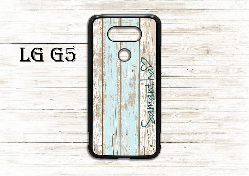 low priced e4a7e 3e89d Custom name rustic wooden pattern cover - phone cover - case for LG  G3/G4/G5/G6 phone - Beautiful gift idea, cool cover, nice case - custom
