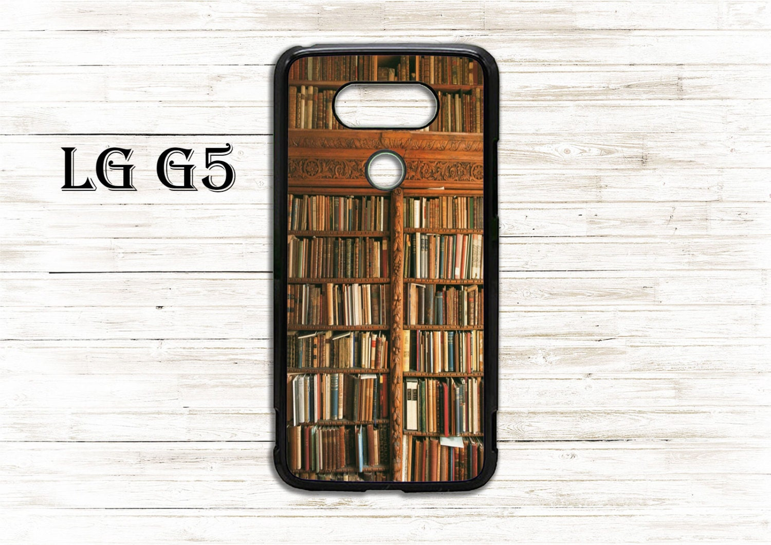 official photos f921f 20396 Vintage bookshelf - phone cover - case for LG G3/G4/G5/G6 phone - Beautiful  gift idea, cool cover, nice case - case for book lovers
