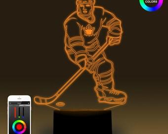 Hockey Lampe Etsy