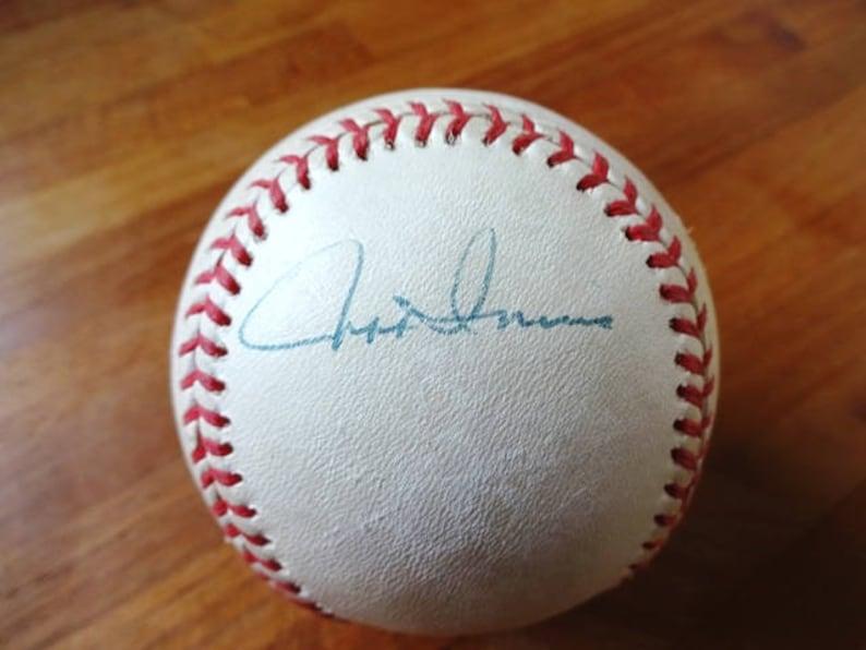 Rawlings Official Ball National League Baseball 1990