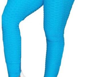 1a15cdd8b62793 Bubble Scrunch Leggings Bubble Booty Scruncg leggings Women Leggings High  Rise front Fitness Leggings Anti Cellulite Fits Size Small to Med