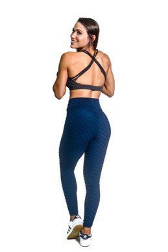383c7013e8f1d Brazilian Textured Bubble Leggings Bubble Booty leggings | Etsy