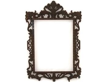 Vintage Metal Baroque Frame