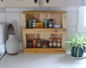Recycled wooden Spice rack