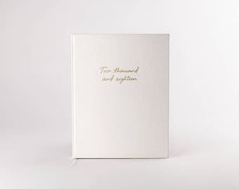 2018 Day Planner - White Hardcover