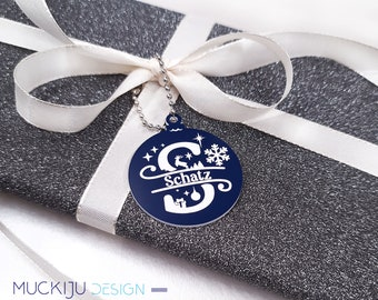 Gift tags personalized with engraving - 5 colors