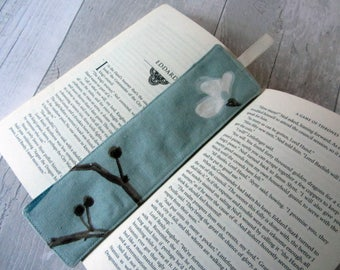 Fabric Bookmark – Teacher Gift – Party Favour – Bookworm Gift – Gift for Her - Floral Bookmark - Book Lover Gift – Stocking Filler