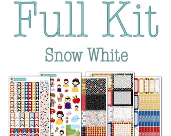 Snow White Collection - Disney Planner Stickers