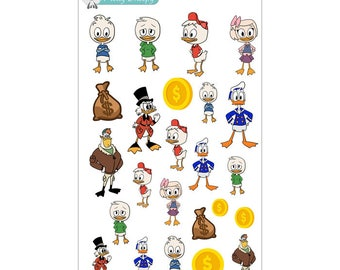 DuckTales Stickers - Disney Planner Stickers