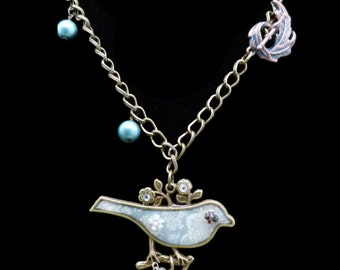 Bluebird of Happiness Necklace, N0753