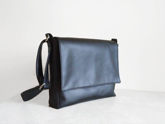 3e3fc7390548 Messenger bags for men Brown mens bags Black bag Mens satchel