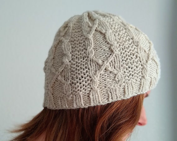 HOOLIGAN HAT knitting pattern for DK yarn