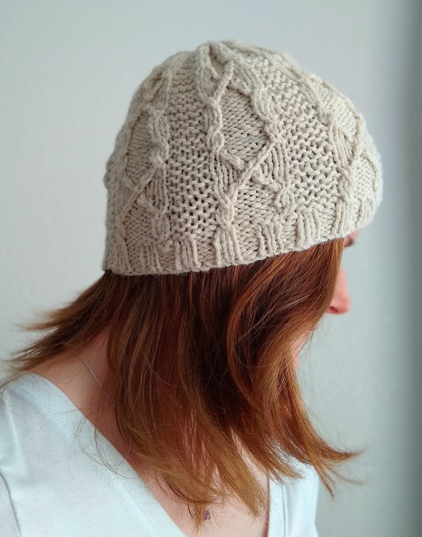 HOOLIGAN HAT knitting pattern for DK yarn 10f930b4ec0