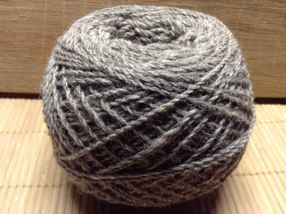 BOOTS Jacob/DorsetX alpaca blend yarn 100g balls 4 ply GREY