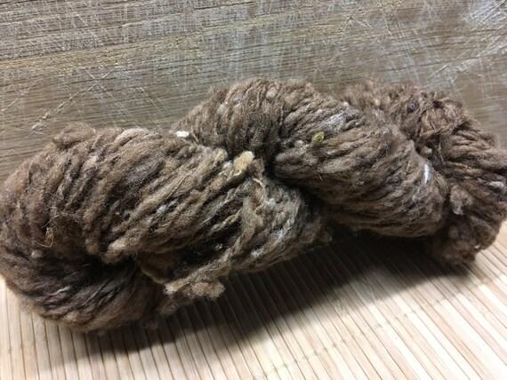 SPICE Corriedale handspun undyed yarn aran ply S17