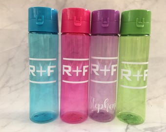 Rodan and Fields Water Bottle Assorted Colors , R+ F, 22 oz BPA Free Rodan Fields, PC Perks, PC Gift