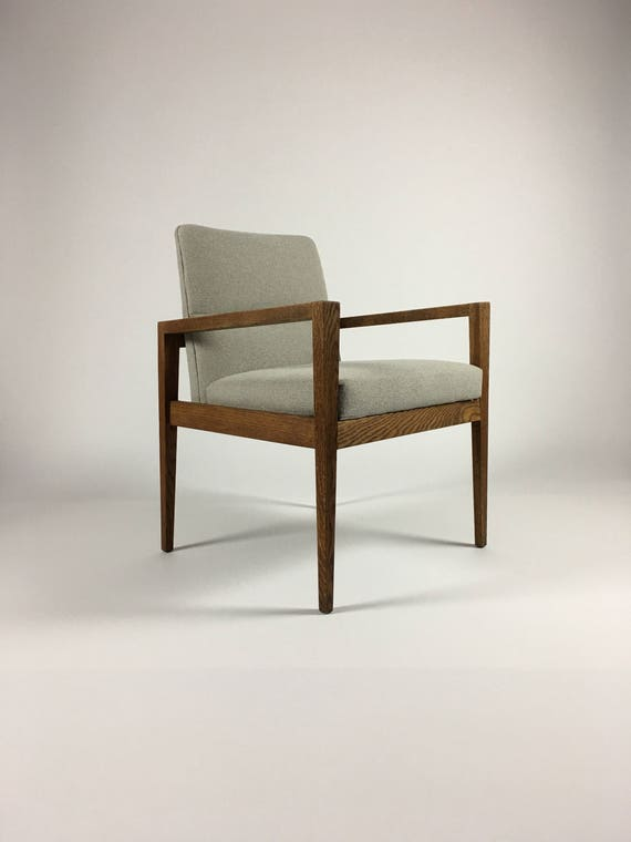 Jens Risom Accent Chair With Arms Office Chairs Occasional Etsy