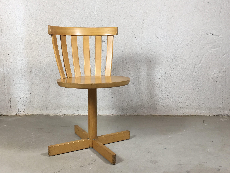 Scandinavian Office Chair Executive 50 Trincheracreativa Scandinavian Design Swivel Chair Edsby Verken Accent Chair Etsy