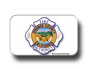 Orange County Fire Authority magnet