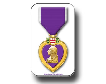 Purple Heart magnet