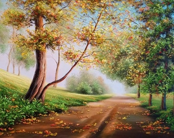 Heavenly Path Oil Painting