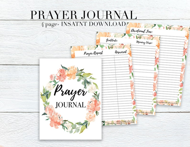 picture about Printable Prayer Journals titled Prayer Magazine Printable
