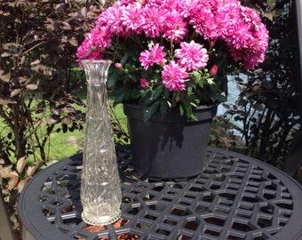 Vintage Clear Vase