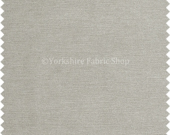 Sold By The Metre New Soft Thin Like Velvet Bamboo Chenille Plain Upholstery Fabric Taupe Colour For Sofas Curtains Interior Furniture
