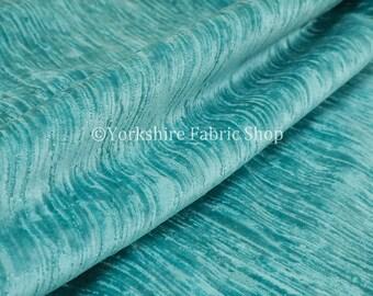 kwaliteit zacht geweven teal fluwelen velours bekleding gordijnen stoffering stof verkocht door het weefsel van de lengte 1 meter