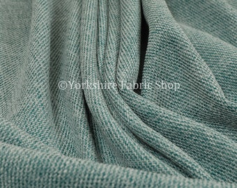 10 Metres Of Soft Hard Wearing Fine Blended Chenille New Ivory Upholstery Fabric