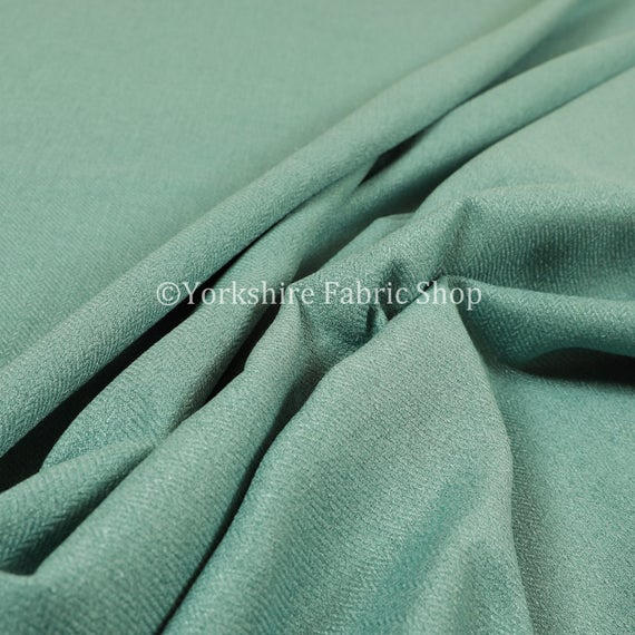 Hard Wearing Durable Linen Effect Chenille Upholstery Curtains Furnishing Fabric
