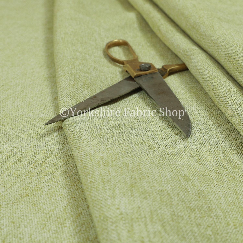 Nouvelle qualité épais Chenille douce Durable tissu tissu tissu couleur verte d'ameublement intérieur canapés tissus - vendus par les 10 mètres 39f578