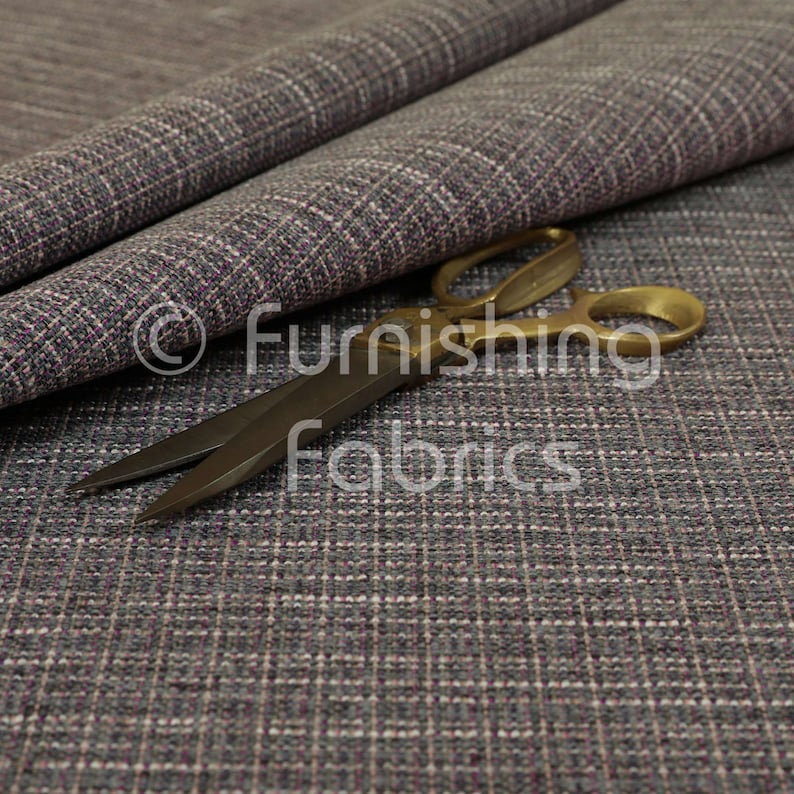 Furnishing Fabrics Weave Purple Material For Home Textiles Sofas Curtains Upholstery Fabric For Sale By The 1 Metre